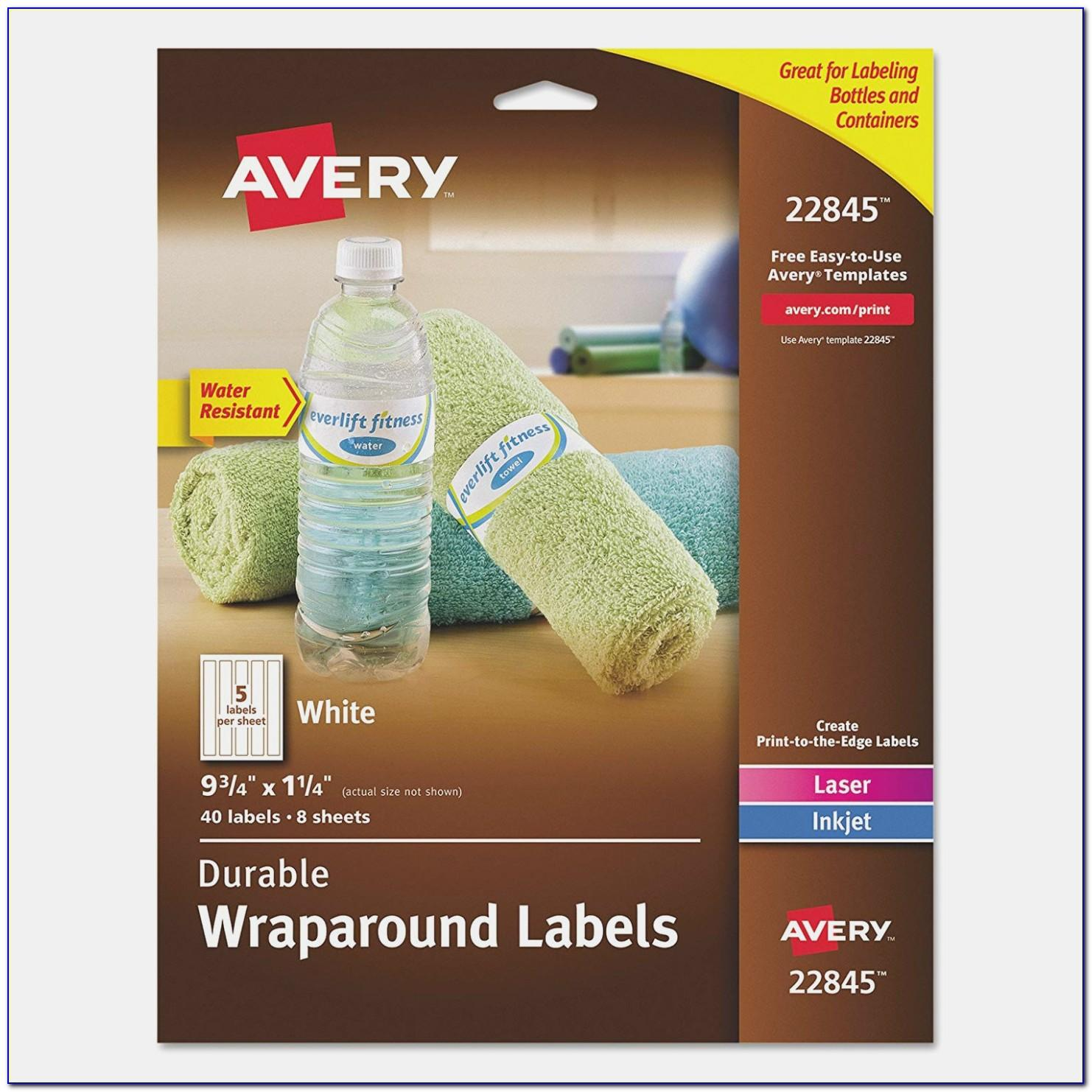 Avery Water Bottle Labels Staples