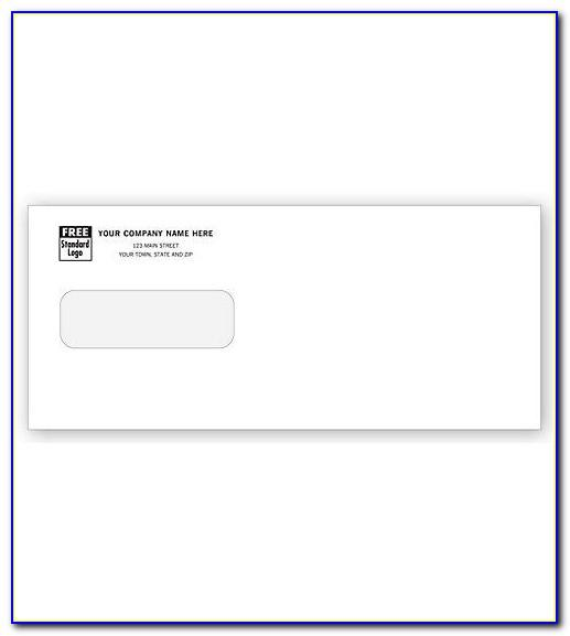 C4 Window Envelope Address Template