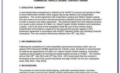 Car Lease Agreement Form Free Download