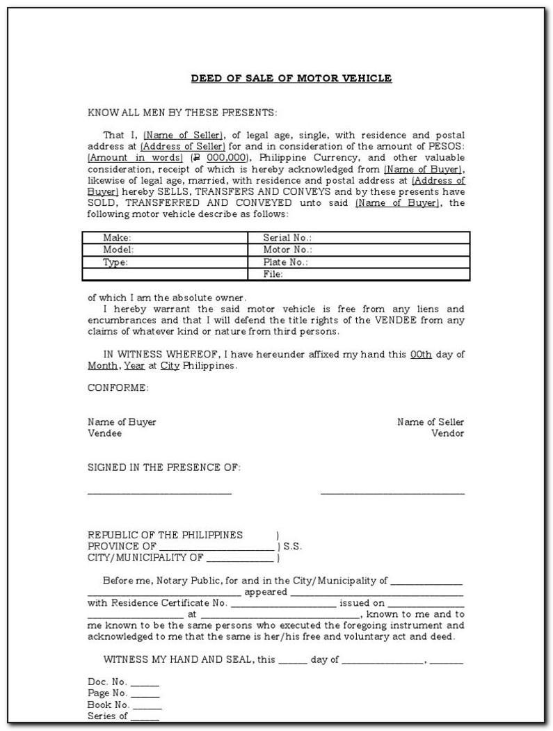 Car Sale Invoice Format