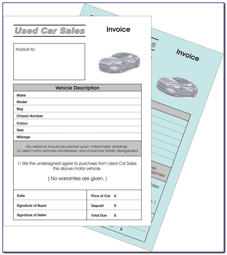 Car Selling Agreement Template