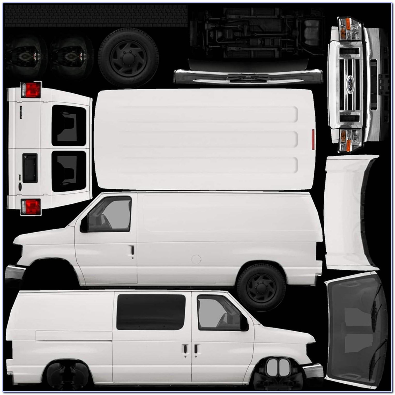 Car Wrap Vector Templates