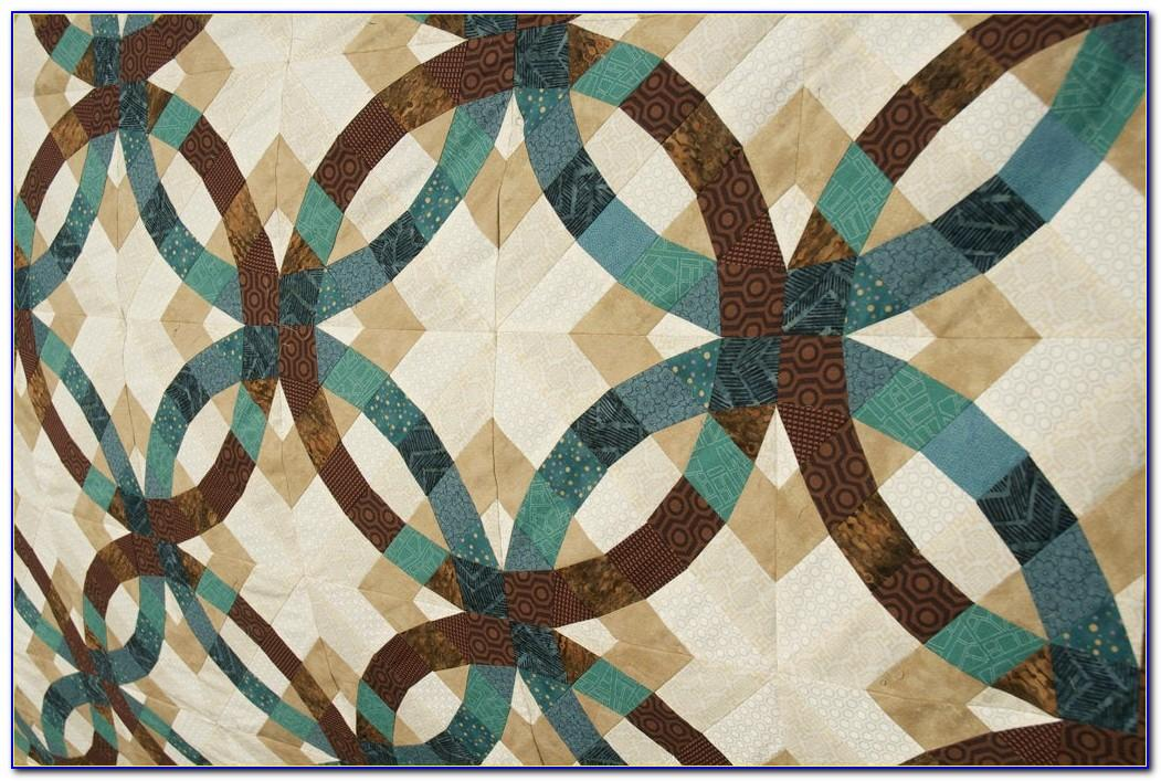 Double Wedding Ring Quilt Pattern Easy