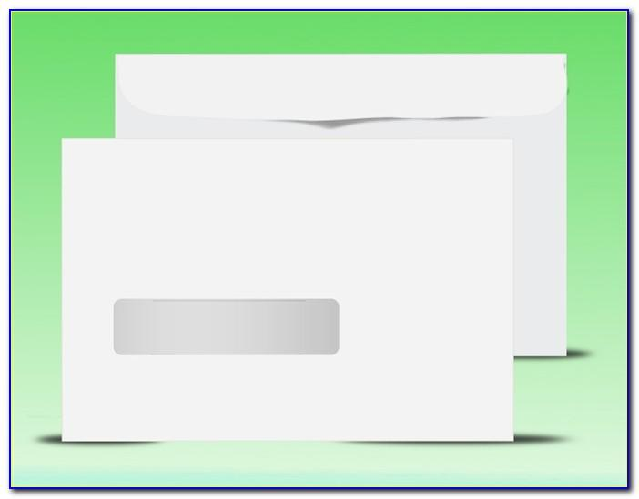 Double Window Envelope Address Template