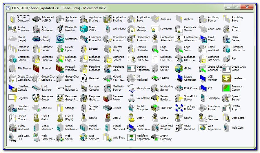 Download Visio 2010 Stencils Free