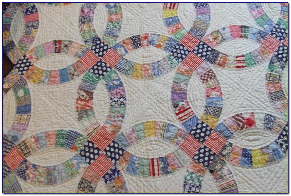 Easy Wedding Ring Quilt Pattern Free