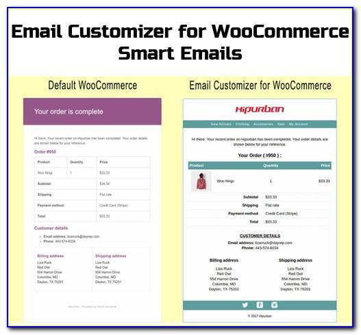 Editing Woocommerce Email Templates