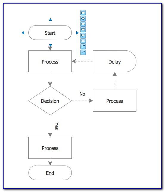 Flow Diagram Template Excel