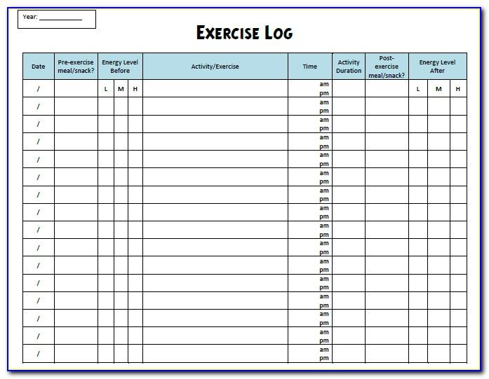 Forklift Training Log Book Template