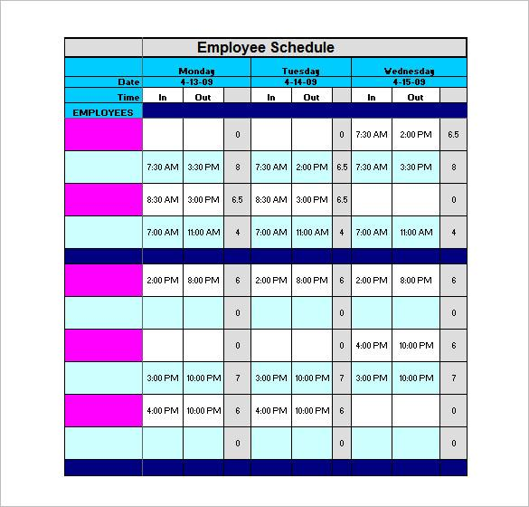 Free Annual Work Plan Template Excel