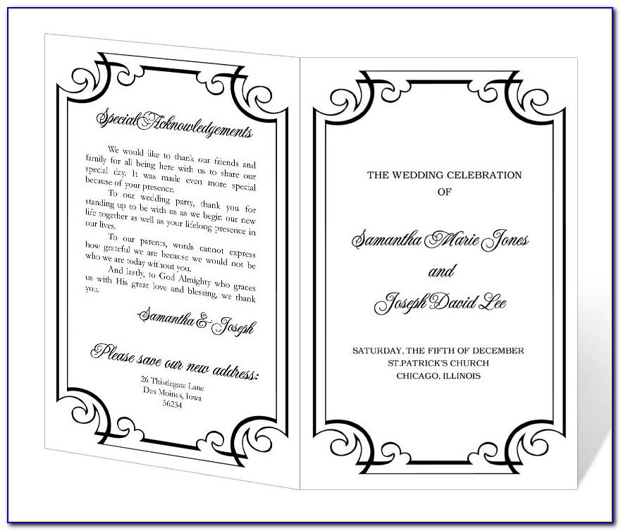 Free Downloadable Wedding Invitation Templates Microsoft Word