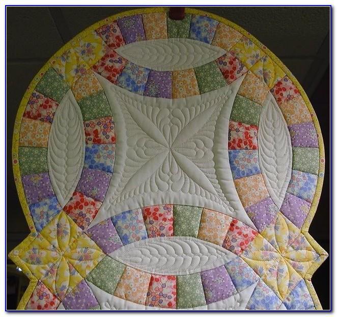 Free Modern Wedding Ring Quilt Pattern