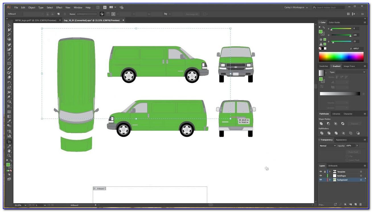 Free Vehicle Wrap Templates Download