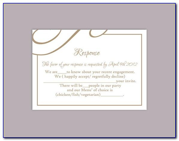 Free Wedding Reception Program Templates
