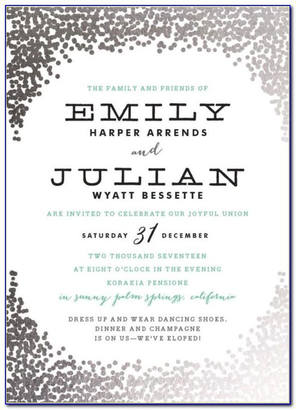 Free Wedding Return Address Label Template