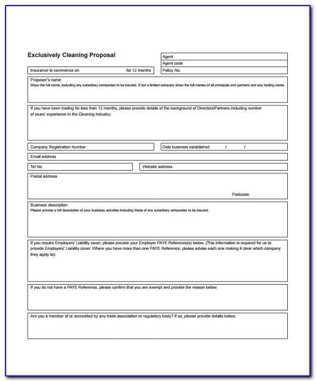 Free Window Cleaning Estimate Template