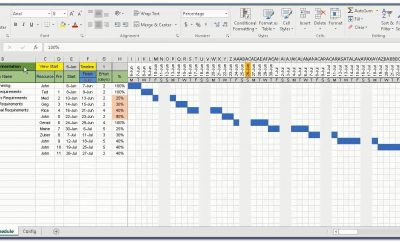 Gantt Chart Template Excel Free Download