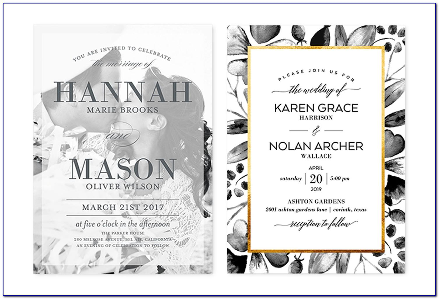 Good Wedding Invitation Wordings For Friends