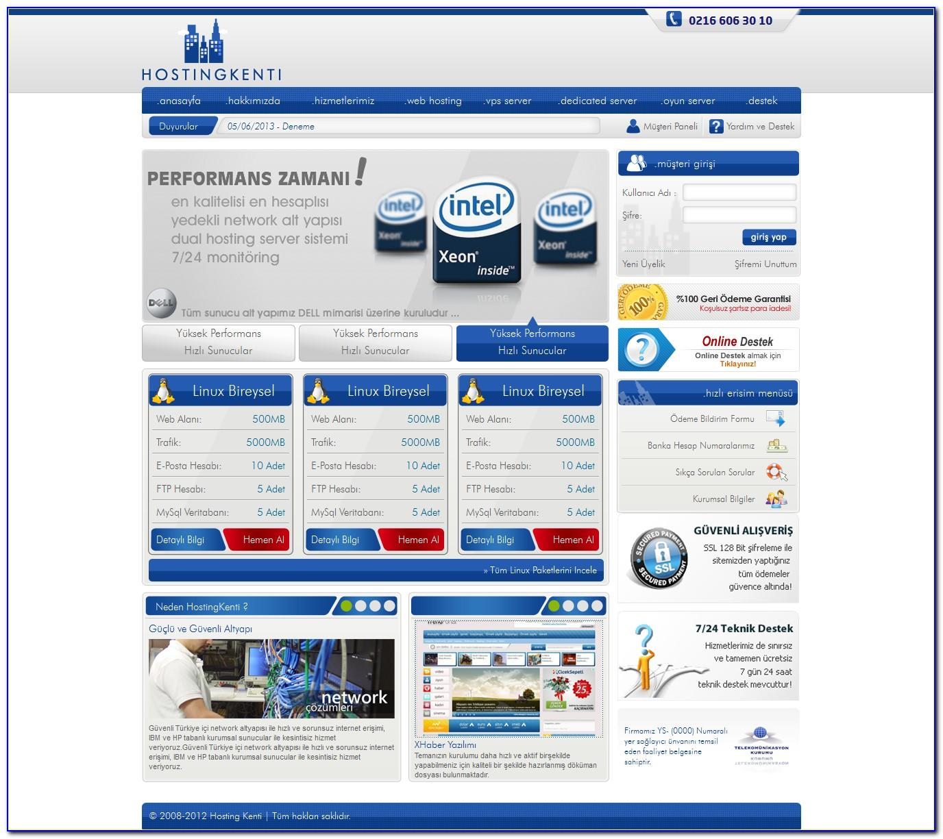 Hostx Whmcs Web Hosting Template