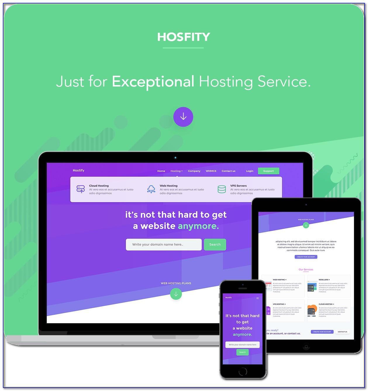 Hostx Whmcs Web Hosting Theme