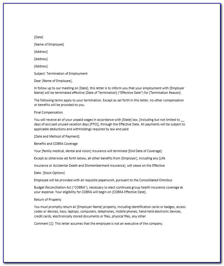 How To Write Resignation Letter Sample Pdf