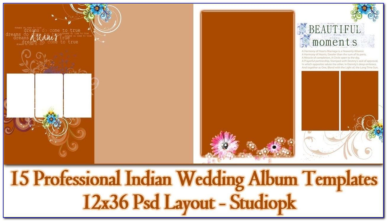Indian Wedding Album Templates Free Download