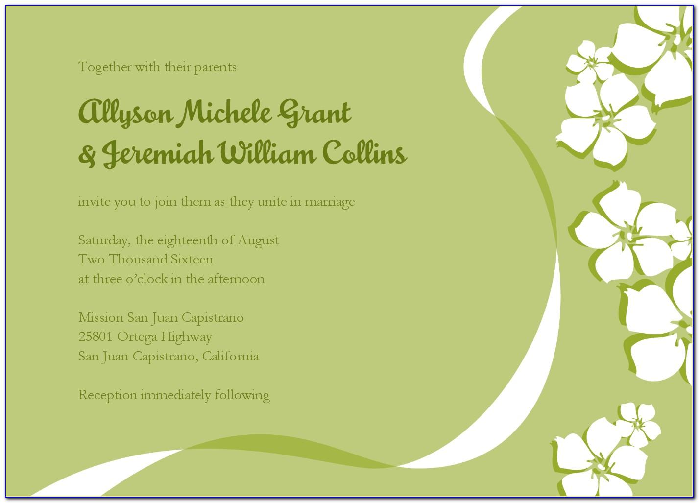 Indian Wedding Invitation Email Templates Free Download