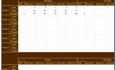 Job Training Log Template Excel