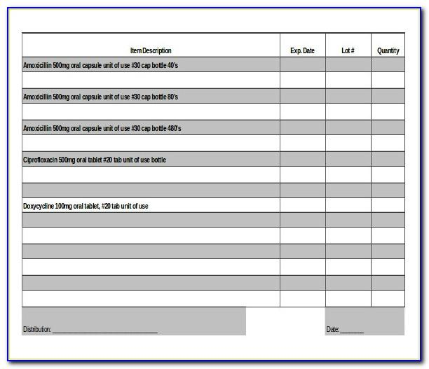 Microsoft Access Warehouse Inventory Template
