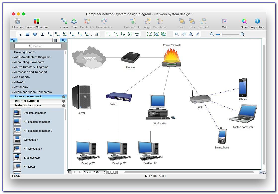 Microsoft Visio Stencils Network Diagram