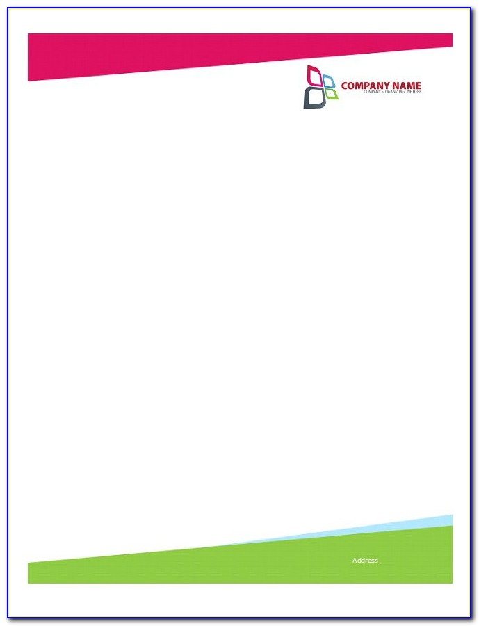 Microsoft Word Templates For Letterhead