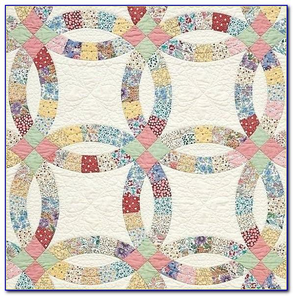 Modern Wedding Ring Quilt Pattern