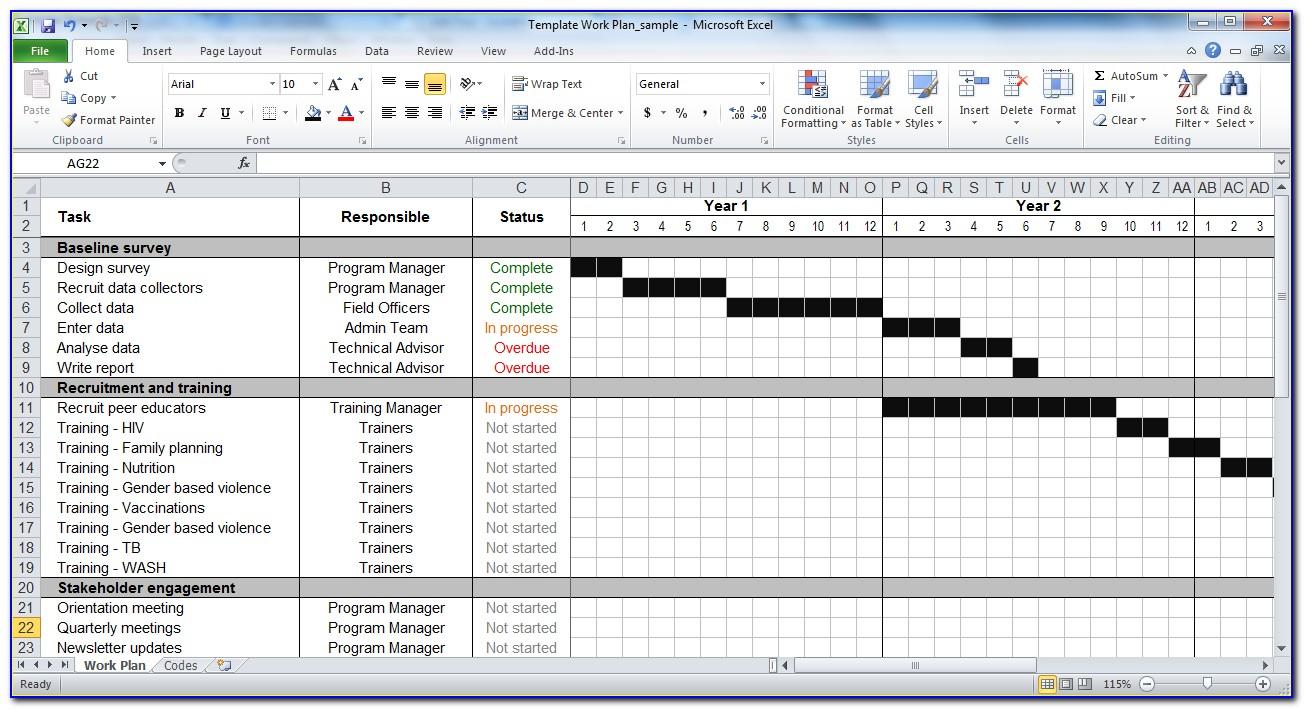 Monthly Work Schedule Calendar Template