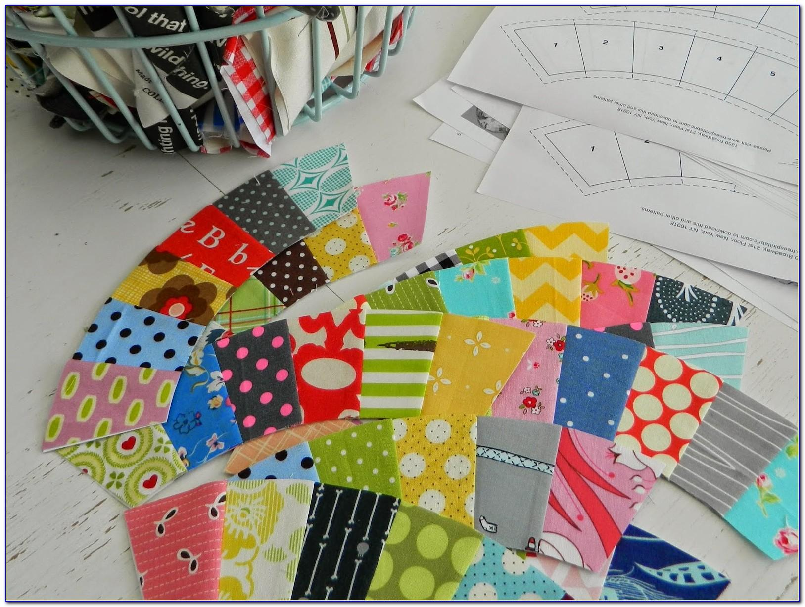 Paper Pieced Double Wedding Ring Quilt Pattern Free