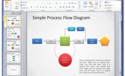 Process Flow Diagram Template Powerpoint
