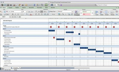 Project Schedule Template Excel Download