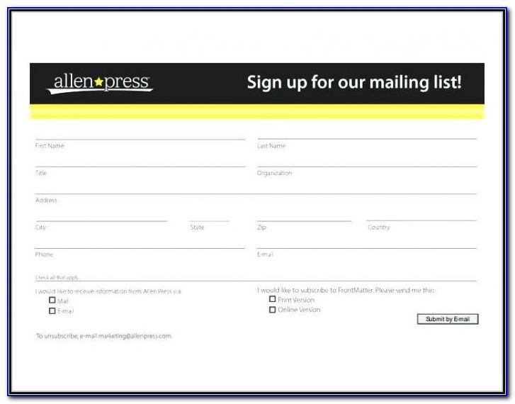 Registration Form Template Free Download In Html
