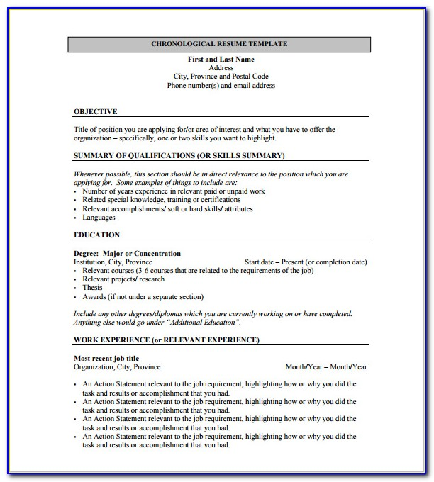 Resume Templates Word For Freshers Free Download