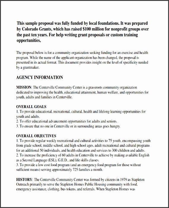 Sample Youth Basketball Program Proposal