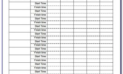 Timesheet Template For Multiple Employees