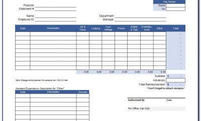 Travel Expense Report Template App