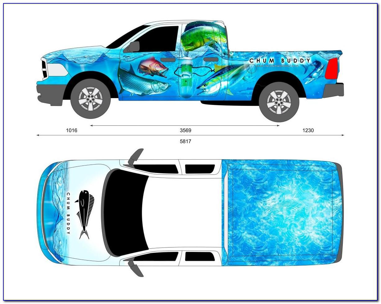 Vehicle Wrap Templates Illustrator Free