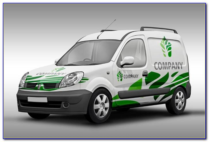 Vehicle Wrap Templates Photoshop