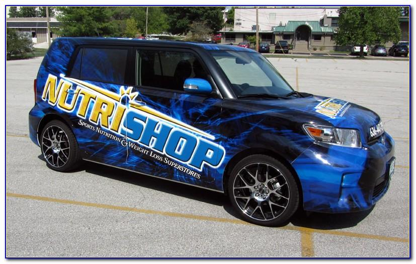 Vehicle Wrap Templates Vector