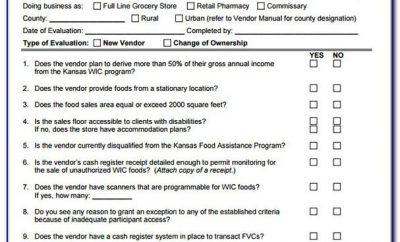 Vendor Assessment And Scorecard Template Excel