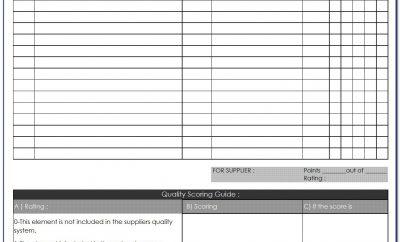 Vendor Audit Checklist Sample