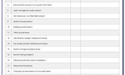 Vendor Management Excel Template Download