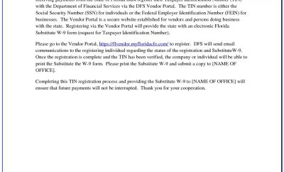 Vendor Registration Covering Letter Sample