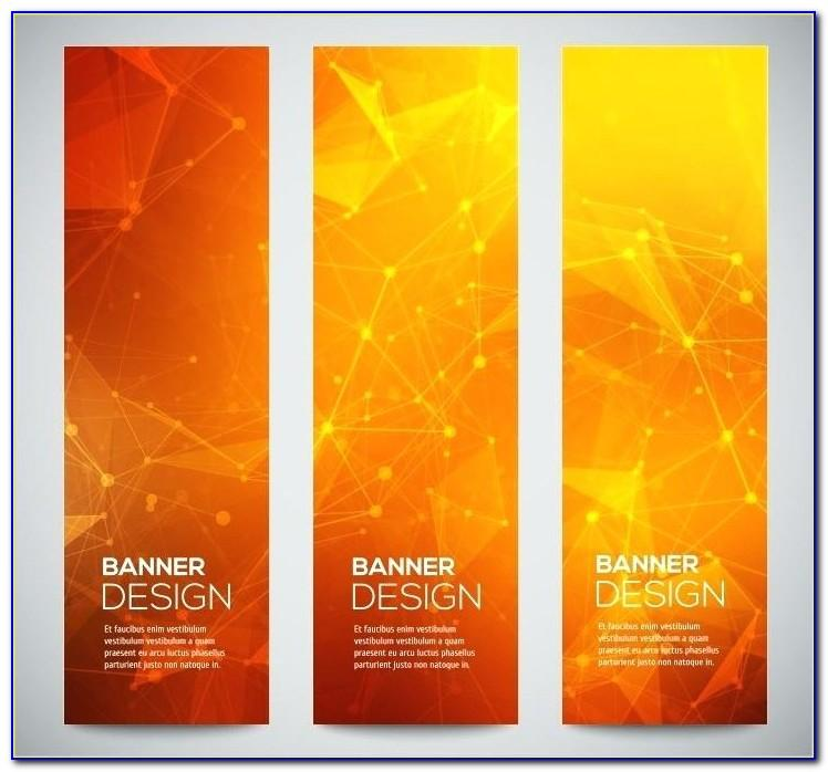 Vertical Banner Design Templates Free Download