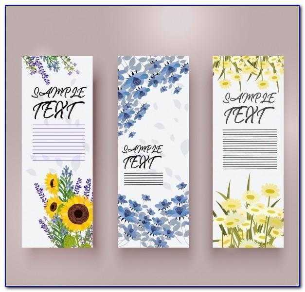 Vertical Banner Psd Template Free